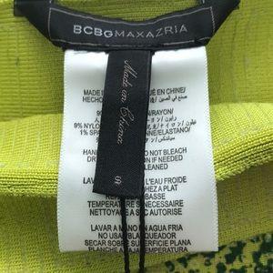 BCBGMaxAzria Skirts - BCBG Max Azria Snake Skin Print Mini Skirt